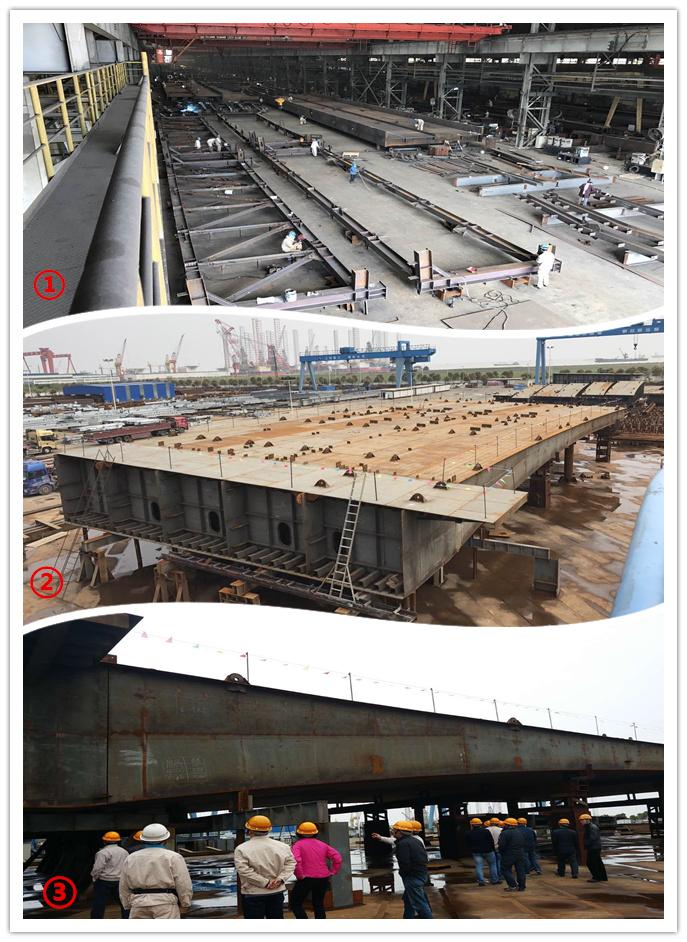 上海建工钢结构有限公司加工厂制作加工项目